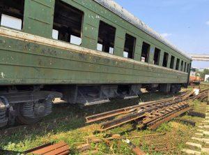 Прием железнодорожного лома