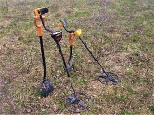 Оборудование для поиска металлолома